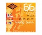 RS66LB Swing Bass Roundwound Strings Stainless Steel (35-90)
