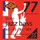 RS77LD Long Scale Flatwound Jazz Bass 45-105