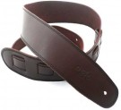 Leather 2.5 Inch Brown with Black Stitching SGE25-17-1