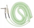 Retro Coil Cable 20ft Angled/St Plugs (Surf Green)
