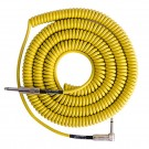 Retro Coil Cable 20ft Angled/Straight Plugs (Yellow) LCRCRY