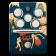 Orange Kongpressor Class A Compressor pedal