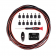 Planet Waves PW-PWRKIT-20 DIY Solderless Pedalboard Power Cable Kit