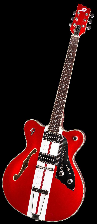 Duesenberg Mike Campbell Ii Crimson Red Hot Rox Uk